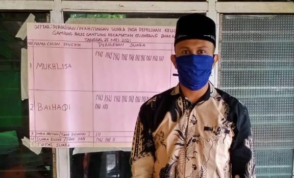 Baihaqi Terpilih  Keuchik Gampong Balee Gantung