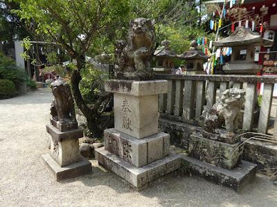 機物神社 狛犬