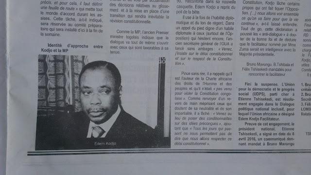 Journal Quiproquo, Lubumbashi