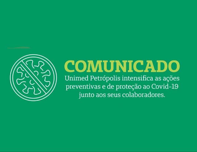 Comunicado Unimed Petrópolis