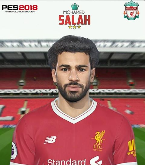 Ultigamerz Pes 2010 Pes 2011 Face: Ultigamerz: PES 2018 Mo Salah (Liverpool) Face