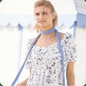 Bufanda y blusa a Crochet o Ganchillo