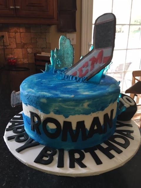 Prime Cakes By Mary Ann Ice Hockey Birthday Cake Funny Birthday Cards Online Benoljebrpdamsfinfo