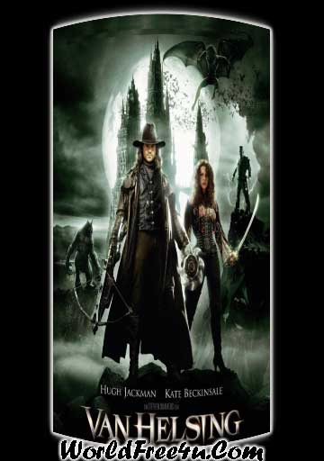 Poster Of Van Helsing (2004) In Hindi English Dual Audio 300MB Compressed Small Size Pc Movie Free Download Only At worldfree4u.com
