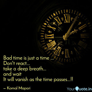 Quotes On Bad Time