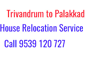 Trivandrum to Palakkad House Shifting Service