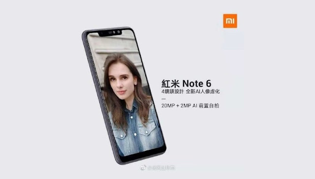xiaomi redmi note 6 pro promotional poster