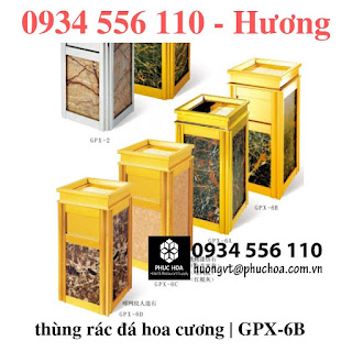 Thùng rác GPX-6B sảnh khách sạnchinasouth