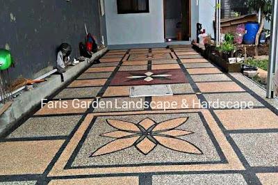Jasa Tukang Batu Sikat Carport Grobogan Purwodadi | Jasa Pembuatan Lantai Carport Batu Sikat di Grobogan