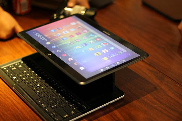 Samsung  Ativ Q Dual OS Android dan Windows 8 Dalam 1Tablet