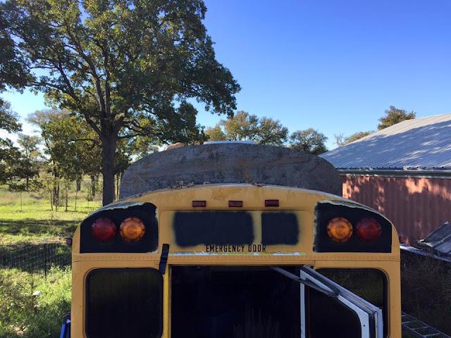 capot toit de bus