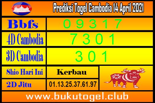 Prakiraan untuk Kamboja 14 April 2021