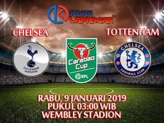 Prediksi Tottenham Hotspur vs Chelsea 9 Januari 2019