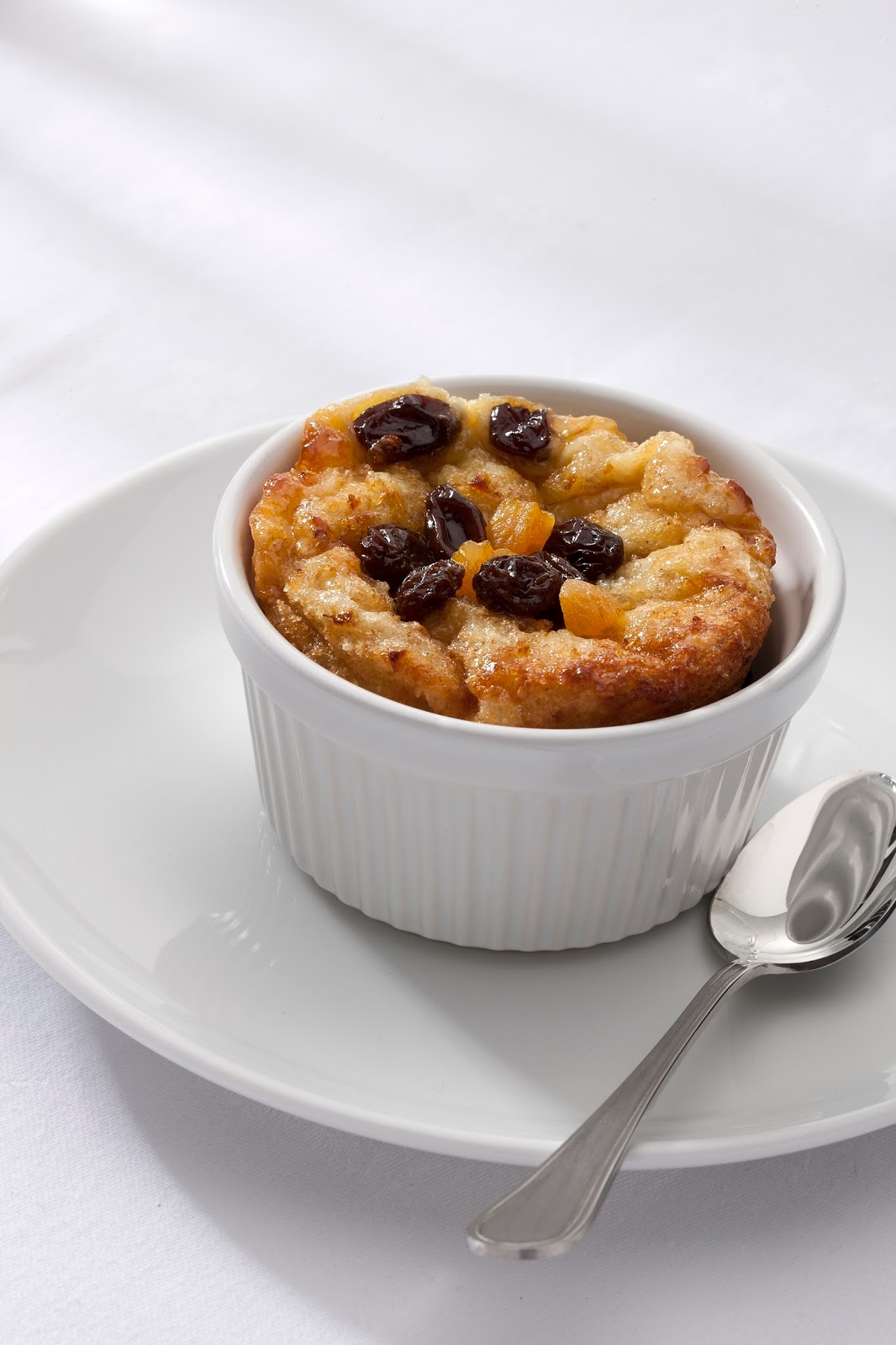 California Raisin, Apricot Bread And Butter Pudding