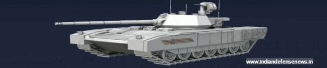 India Considers Readiness To Buy Up To 500 T-14 Armata Tanks By The End of The Year