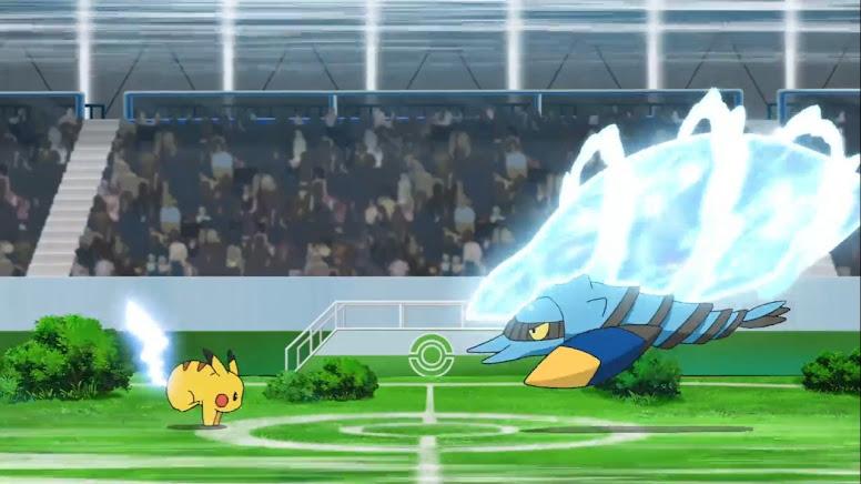 Pikachu vs Clawitzer