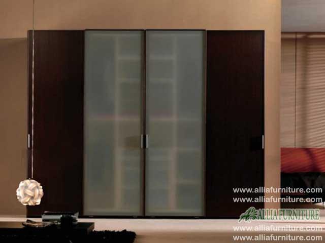 lemari pakaian minimalis 4 pintu noah
