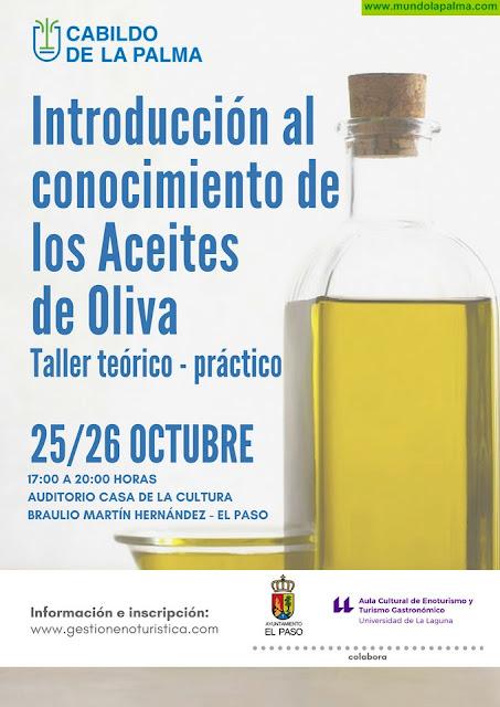 El Cabildo organiza un taller de introducción al conocimiento de los aceites de oliva