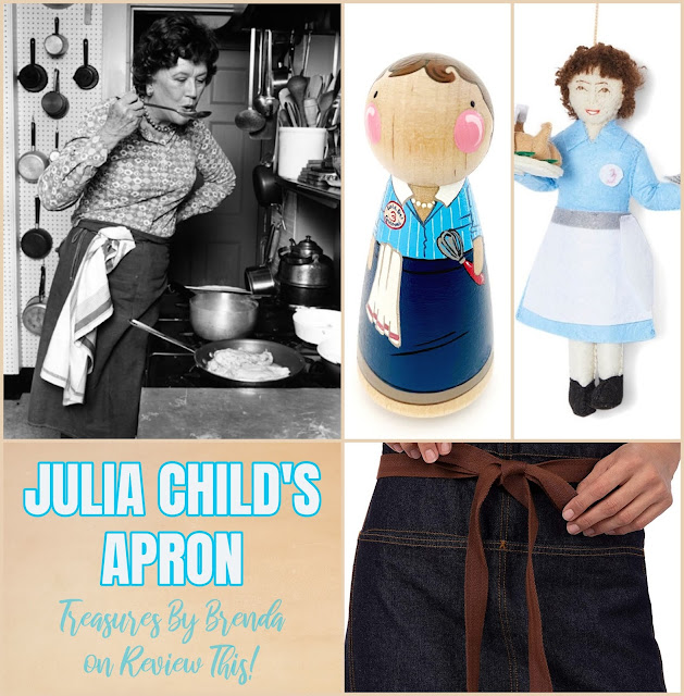 Learn a bit more about Julia Child, the famous television chef and author's apron!
