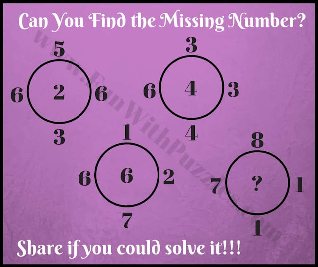 Can you find the Missing Number in this Tough Genius Math Logic Puzzle?