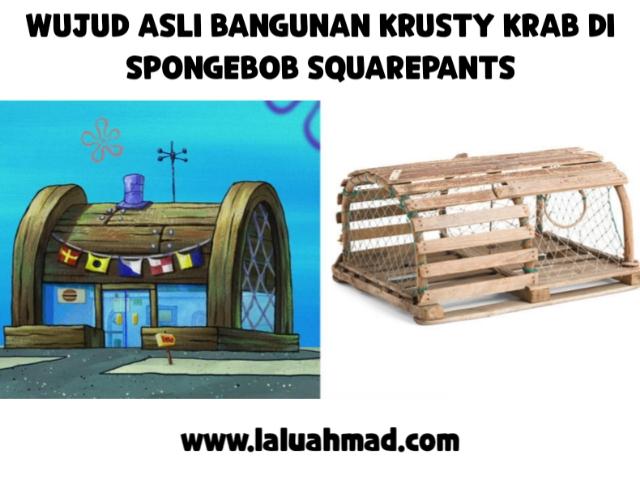 Foto Wujud Asli Bangunan Krusty Krab di Spongebob Squarepants