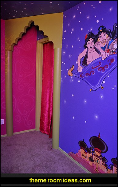 I Dream Of Jeannie  -  Aladdin theme bedrooms