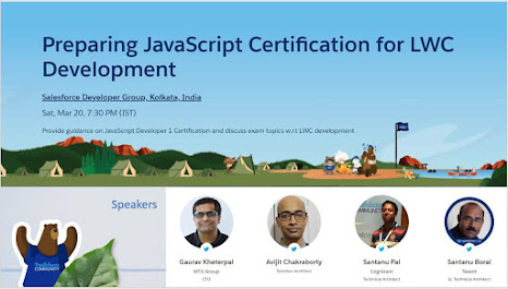 Trailblazer Community Event: Preparing JavaScript for LWC Development