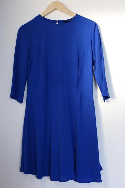 Blauwe jurk Primark Amsterdam shoplog Zeeuws modemeisje