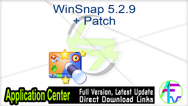 WinSnap 5.2.9 + Patch