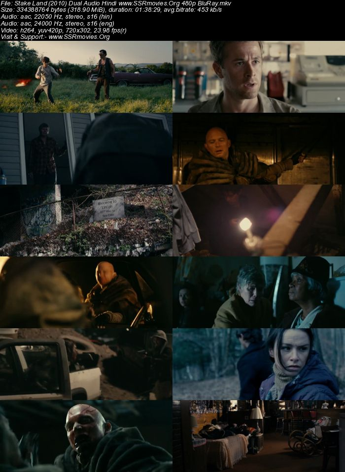 Stake Land (2010) Dual Audio Hindi 480p BluRay