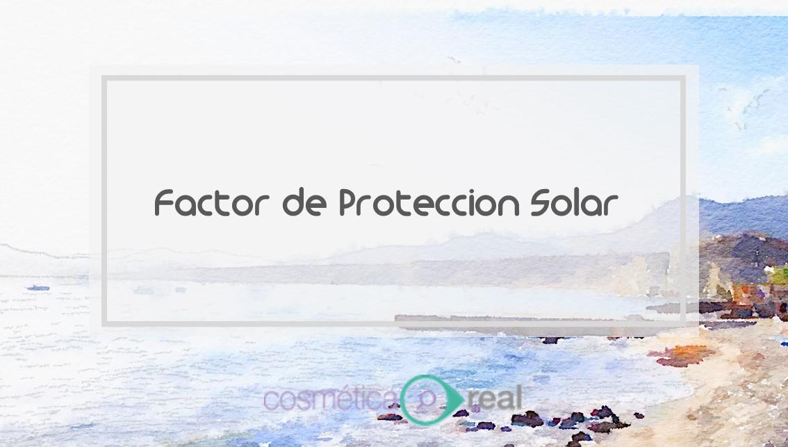 Factor de proteccion solar FPS - SPF 967d14675c6
