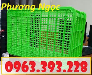 Sọt nhựa đựng nông sản cao 31, sóng nhựa công nghiệp, sọt rỗng HS004 83