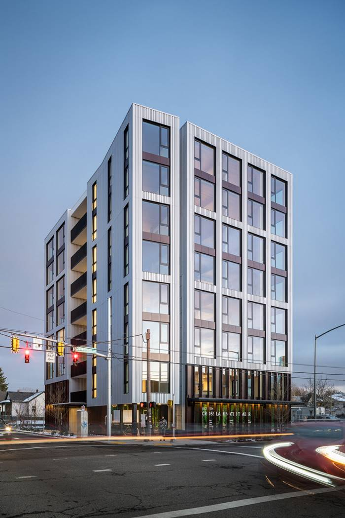 The Tallest Wooden 8-storey Building in United States