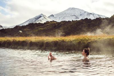 Los baños termales son una de las opciones más demandadas en verano en Islandia