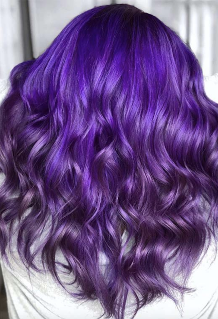 light purple hair colors