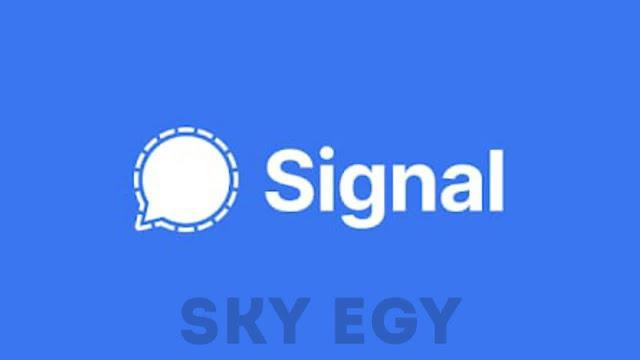 مراجعة تطبيق Signal Chat 2021