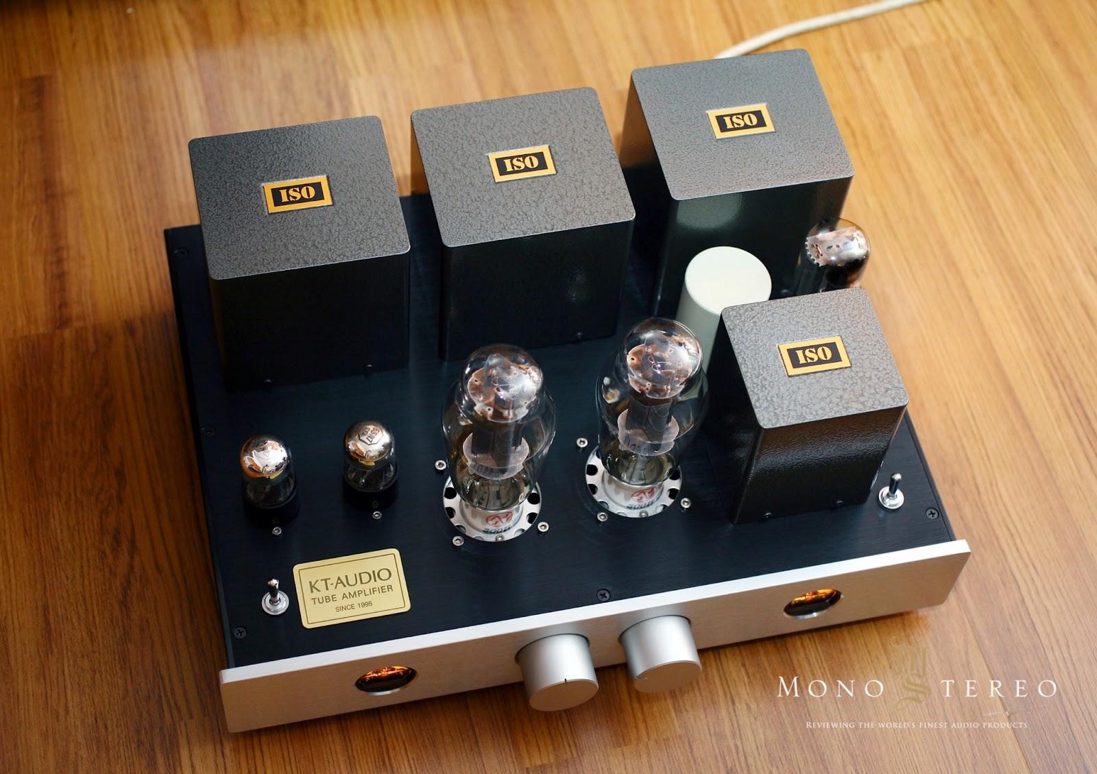 Mono and Stereo High-End Audio Magazine: KT-Audio 300B tube