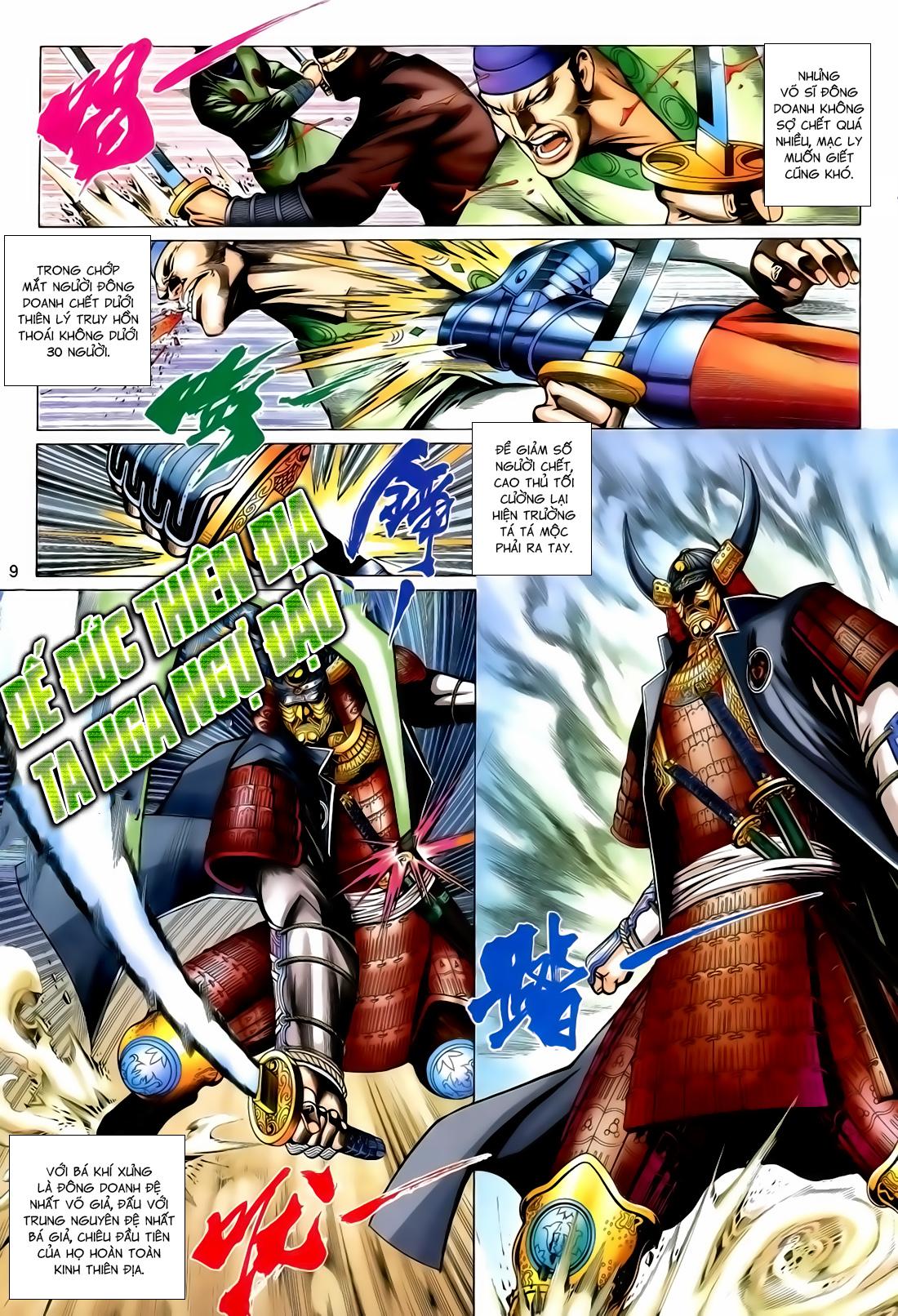Anh Hùng Vô Lệ Chap 167 - Trang 9
