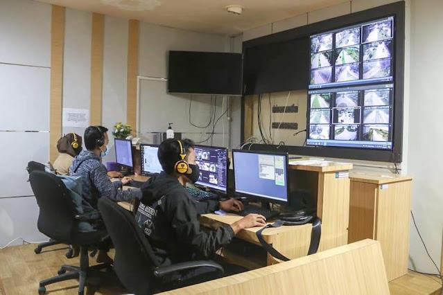 Dinas Kominfo Kota Batam Pasang 36 CCTv di 20 Lokasi Yang Rawan