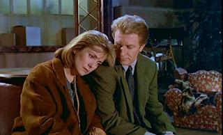 Catherine Deneuve et André Dussollier dans le thriller FREQUENCE MEURTRE (1988)