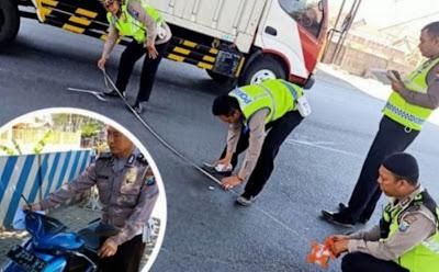 Lakalantas: Pindah Lajur, Gadis asal Tulangan Tewas Terlindas Bus di Kejapanan