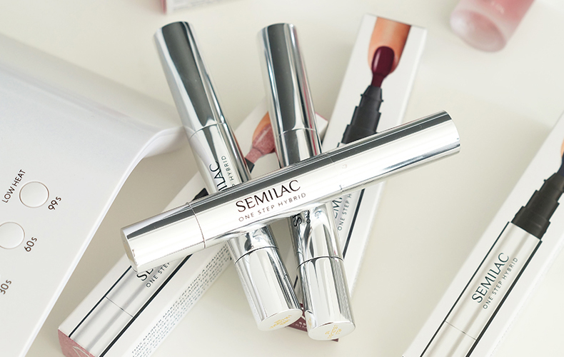 Semilac - One Step Hybrid czyli lakier hybrydowy w markerze. Nowość!