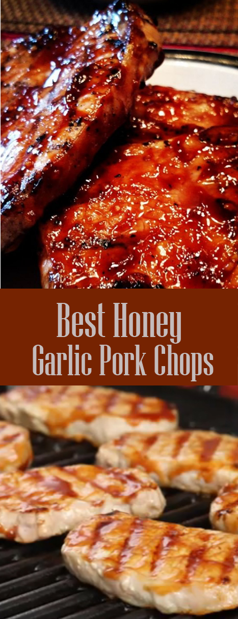 Best Honey Garlic Pork Chops!