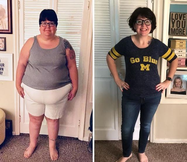 Tem Na Web - 13 Pessoas que ficaram irreconhecíveis depois de perder peso