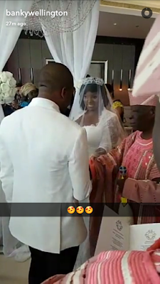 View of Tolu AKA Toolz & Tunde Demuren marriage pictures,8