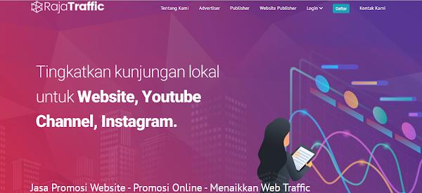 Rajatraffic: Jasa Promosi Website Terbaik Asal Indonesia