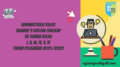 Silabus 9 Kolom Kurikulum 2013 SD Lengkap Semua Kelas Tahun Pelajaran 2021/2022