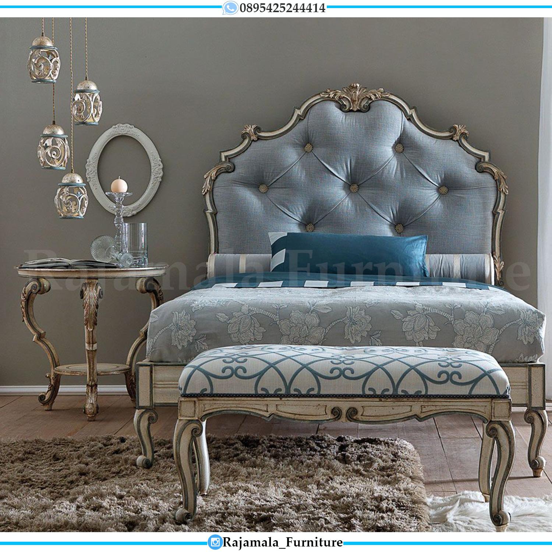 Jual Dipan Mewah Ukiran Jepara Baroque Luxury New Design RM-0085