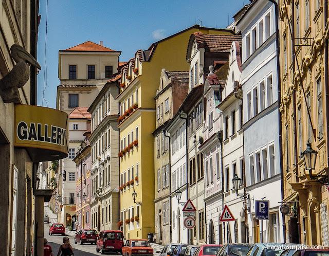 Rua Nerudova, Centro Histórico de Praga, República Tcheca
