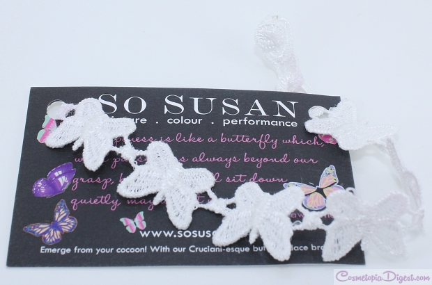 So Susan Lip Love March 2015 Beauty Bag review, swatches